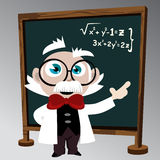 Science professor Royalty Free Stock Photo