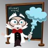Science professor Stock Photo