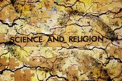 Science and religion Royalty Free Stock Images