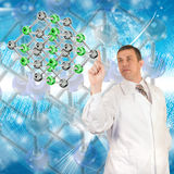 Science research Royalty Free Stock Photography
