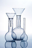 For science research glass laboratory equipment Royalty Free Stock Image