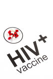 Science research by HIV Oral vaccine capsule, aids Stock Images