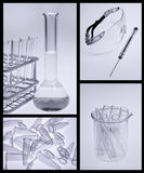 Science research labolatory Stock Photo
