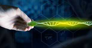 Science research test Royalty Free Stock Photo