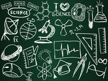 Science school board Stock Image