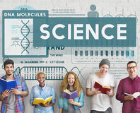 Science Scientist Study Technology Chemistry Concept Royalty Free Stock Photography