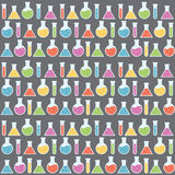 Science Seamless Pattern Royalty Free Stock Photography