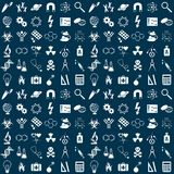 Science seamless pattern Stock Photography