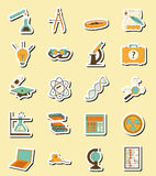 Science set vector Stock Images