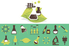 Science simple icon 01 Stock Images