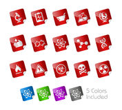 Science // Stickers Stock Images