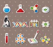 Science stickers Royalty Free Stock Photo