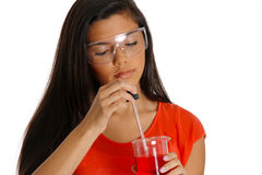 Science Student Royalty Free Stock Image