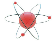 Science symbol. Made in 3d science symbol stock illustration