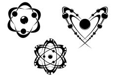 Science symbols Stock Image