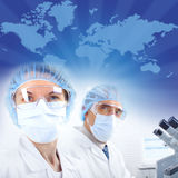 Science Team Stock Photography