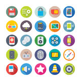 Science and Technology Colored Vector Icons 6 Royalty Free Stock Images