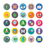 Science and Technology Colored Vector Icons 7 vector illustration