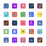 Science and Technology Colored Vector Icons 2 Stock Photography