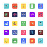 Science and Technology Colored Vector Icons 5 vector illustration