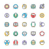 Science and Technology Cool Vector Icons 2 Royalty Free Stock Photo