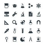 Science and Technology Cool Vector Icons 4 Royalty Free Stock Photo