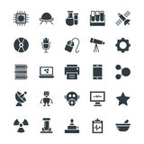 Science and Technology Cool Vector Icons 2 Stock Photos