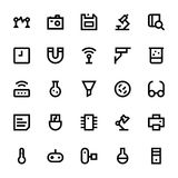 Science and Technology Vector Icons 3 Stock Images