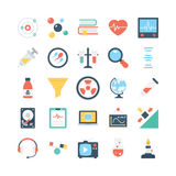 Science and Technology Vector Icons 2 Royalty Free Stock Photography