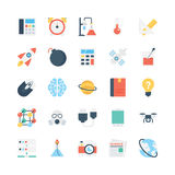 Science and Technology Vector Icons 3 Stock Image