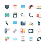 Science and Technology Vector Icons 5 Royalty Free Stock Image