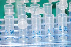 Science test tube Stock Photos