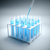 Science Test Tubes Royalty Free Stock Photos