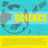 Science theme with space and text Stock Photo