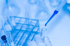 Science tools for test and analysis with laboratory and biology. Stock Images