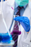 Science tools for test and analysis with laboratory and biology Royalty Free Stock Photography