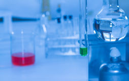 Science tools for test and analysis with laboratory. Stock Images