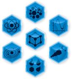 Science (vector). Vector in global colors. CMYK. Extremely easy color changes. Layered Royalty Free Stock Image