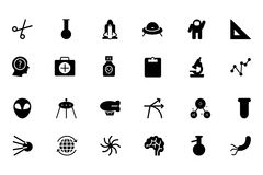 Science Vector Icons 4 stock illustration