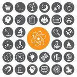 Science vector set.vector/eps10. Royalty Free Stock Photo