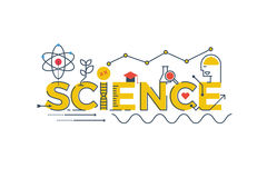 Free Science Word Illustration Royalty Free Stock Image - 70741336
