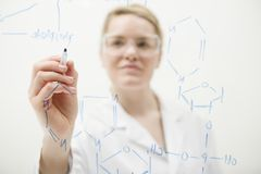 Science at work Stock Photography