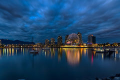 Science World building at blue hour Royalty Free Stock Images
