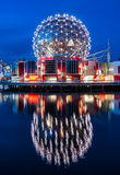 Science World night Royalty Free Stock Images