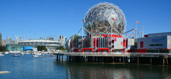 Science World at Telus World of Science. Royalty Free Stock Photos