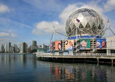 Science World and Vancouver Stock Image