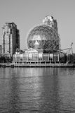 Science World. VANCOUVER BC CANADA JUNE 15 2015: Science World at Telus World of Science. It has many interactive science exhibits and displays, and popular stock photos