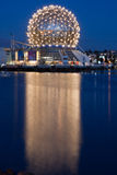 Science World Vancouver at Night Royalty Free Stock Image