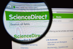ScienceDirect Obraz Royalty Free
