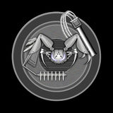 Sciencefictions-Krabbe Lizenzfreie Stockfotos